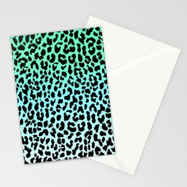 Cool Leopard Stationery Cards