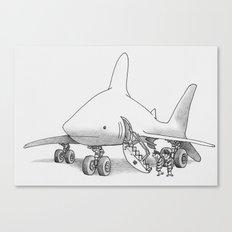Pilot Fish Canvas Print