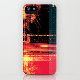 X Machina #2 iPhone Case
