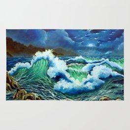 Moonlit Sea Rug