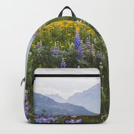 Waterton Wildflowers Backpack