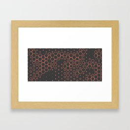 Hex on you no. 1 Framed Art Print