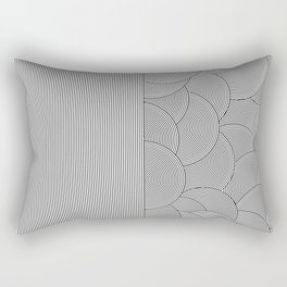 Two Lines Rectangular Pillow