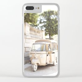 Parisian Tuktuk Clear iPhone Case