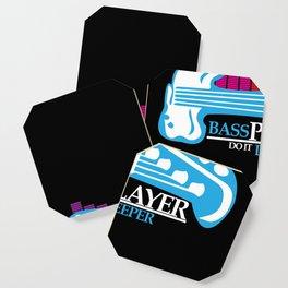 Bass Player Do It Deeper Guitarist  Coaster