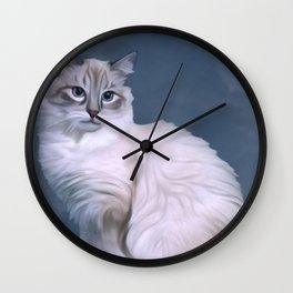 Ol Blue Eyes Wall Clock
