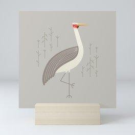 Brolga, Bird of Australia Mini Art Print