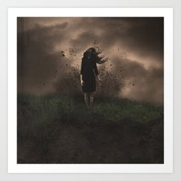 A Force to be Reckened With Art Print