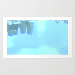 Fly: Glimpse Under Water Art Print