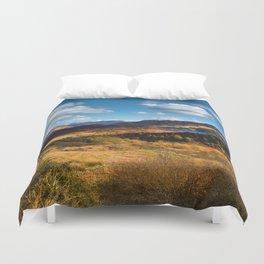 Highland view. Duvet Cover