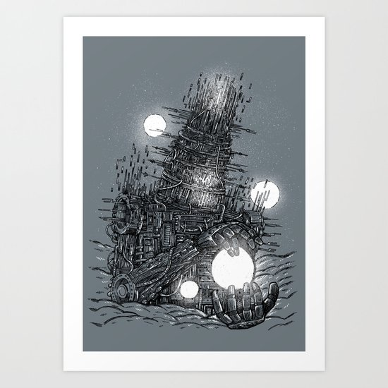 The Star Builder Art Print