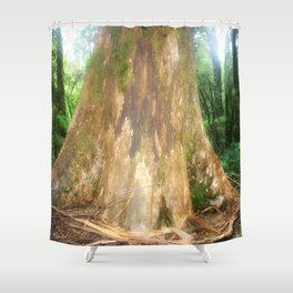 "Mountain Ash Tree (Aka ""The Big Boy"") Shower Curtain"