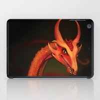smaug iPad Cases featuring Smaug by Julia Lundgren
