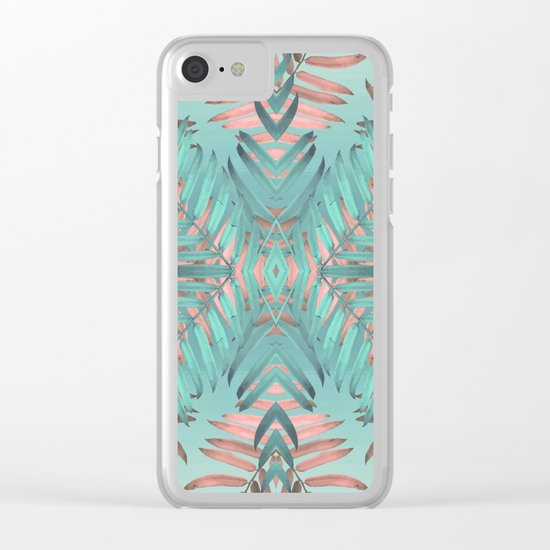 JUNGLE VIBES Clear iPhone Case