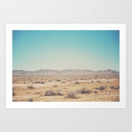 in the distance ... Art Print