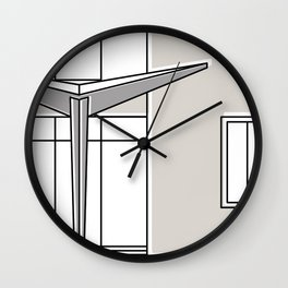 Villa Planchart -Detail- Wall Clock