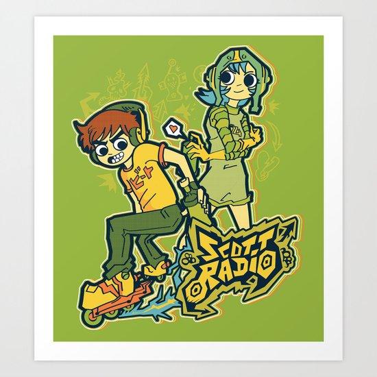 Scott Radio!!! Art Print