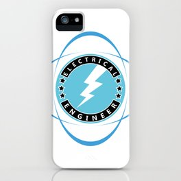 electrical engineering, electric engineer iPhone Case