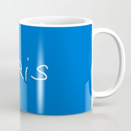 Paris 2 blue Coffee Mug