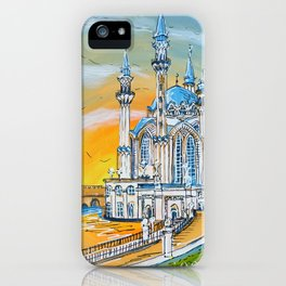 Kul Sharif Mosque iPhone Case