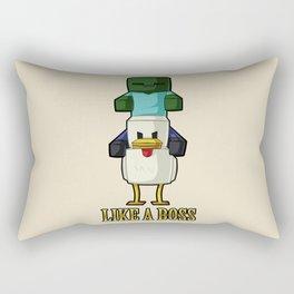 Chicken Jockey Rectangular Pillow