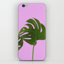 Monstera madness II iPhone Skin
