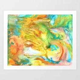 Palette Gone Wild Art Print
