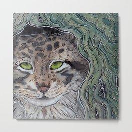 Pallas Cat Metal Print