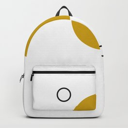 SPACCE 03// GEOMETRIC PASTEL MINIMALIST ILLUSTRATION Backpack