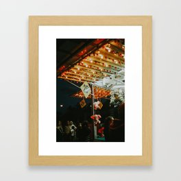 25 Cent Win Framed Art Print