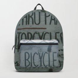Park Sign Backpack