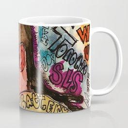 pnd,soul,rnb,hiphop,singer,rapper,ovo,poster,portrait,colourful,lyrics,music,fan art, Coffee Mug
