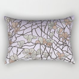 pattern of branches in pastel colors 2 (https://society6.com/totalflora/collection ) Rectangular Pillow