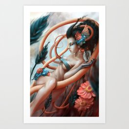Innocent Art Print