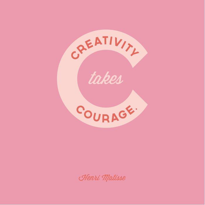 Creativity Takes Courage - Henri Matisse Quote Duvet Cover