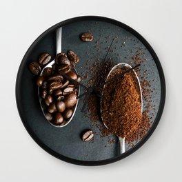 Coffee Spoons Wall Clock