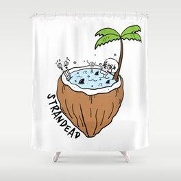Strandead Shower Curtain