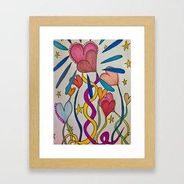 Hold Me In Love Framed Art Print