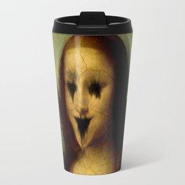 Haunted Mona Lisa Travel Mug