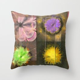 Bastiment Concord Flower  ID:16165-003155-40511 Throw Pillow
