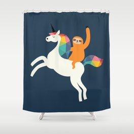 Magic Time Shower Curtain
