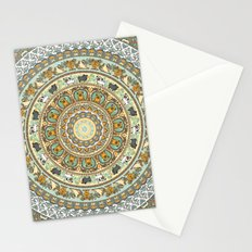 Pug Yoga Medallion Stationery Cards