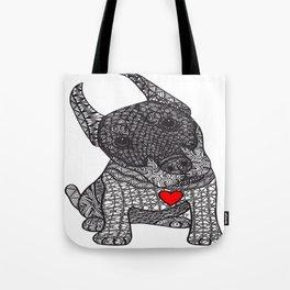 Fearless Protector - Doberman Tote Bag