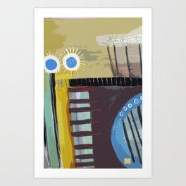 Lineas y Circulos 5 Art Print