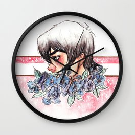 The Red Paladin Wall Clock
