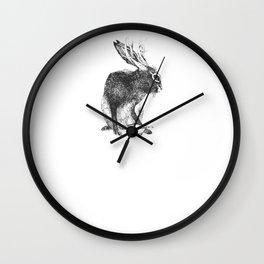 Japanese jackalope Wall Clock