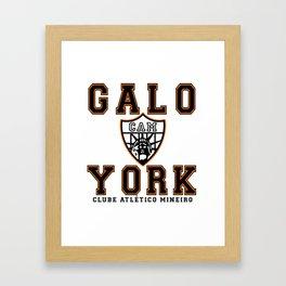 Galo York Framed Art Print
