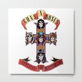 Guns N roses Appetite For Destruction Metal Print