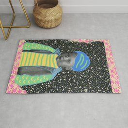 Young Sad Constellation Rug