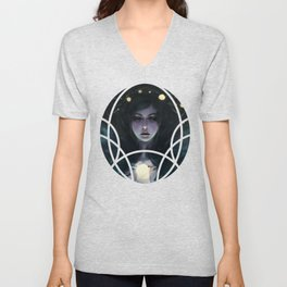 Aurora Borealis Unisex V-Neck